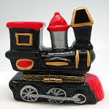 Locomotive Train Ceramic Jewelry Box - DutchNovelties  - 3