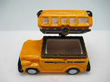 Small Yellow School bus Collectible Hinge Box - DutchNovelties  - 4