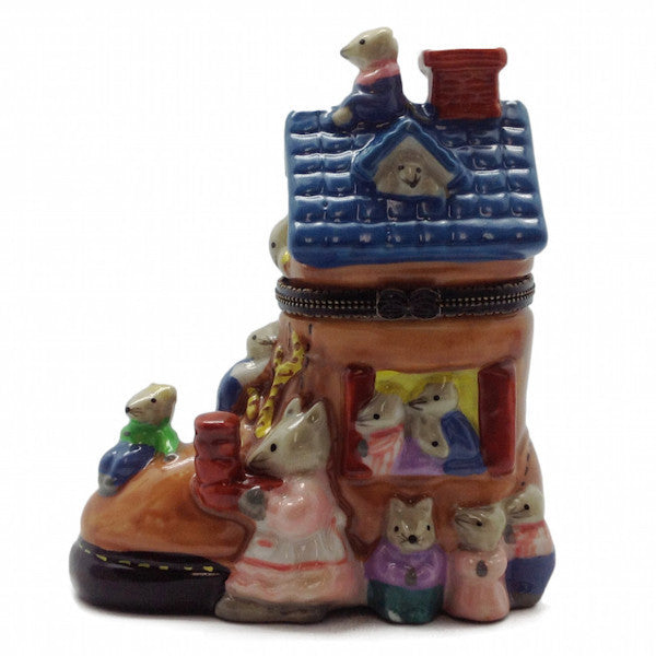 Jewelry Boxes For Little Girls: Old Lady In Shoe - DutchNovelties  - 1