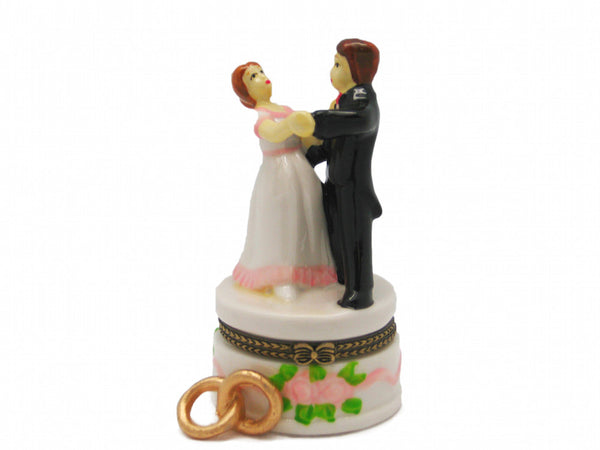Wedding Favor Hinge Box Bride and Groom - DutchNovelties  - 1