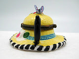 Jewelry Boxes For Little Girls: Straw Hat and Tea Pot - DutchNovelties  - 4