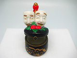 Comedy and Tragedy Mask Shakespeare Jewelry Box - DutchNovelties  - 2