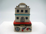 Western Gifts Hinge Box: City Hall & Jail - DutchNovelties  - 4