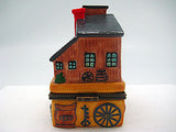 Western Gifts Hinge Box: Trading Post - DutchNovelties  - 5