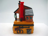 Western Gifts Hinge Box: Trading Post - DutchNovelties  - 4