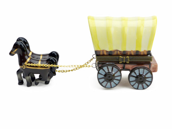 Western Gifts Hinge Box: Covered Wagon - DutchNovelties