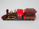 Train Gift American Wooden Train Hinge Box - DutchNovelties  - 3