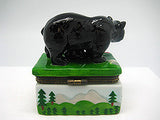 Alaska Gifts Jewelry Boxes Black Bear With Cub - DutchNovelties  - 5