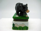 Alaska Gifts Jewelry Boxes Black Bear With Cub - DutchNovelties  - 3