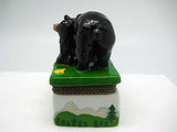 Alaska Gifts Jewelry Boxes Black Bear With Cub - DutchNovelties  - 4