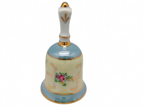 Gold Finish Bell Victorian Collectible - DutchNovelties