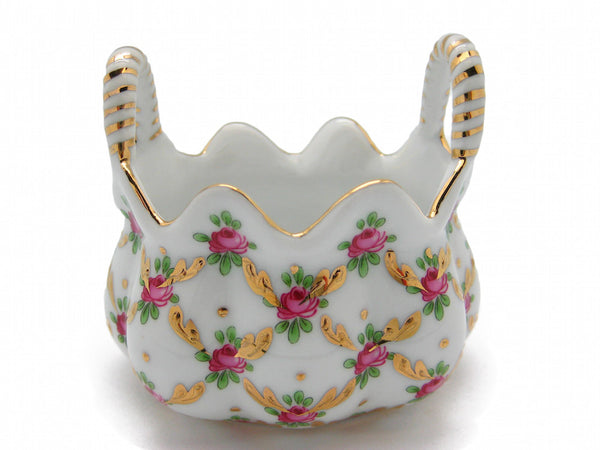 Desert Rose Basket Victorian Jewelry Boxes - DutchNovelties