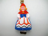Norwegian Souvenir Girl Key Chain - DutchNovelties