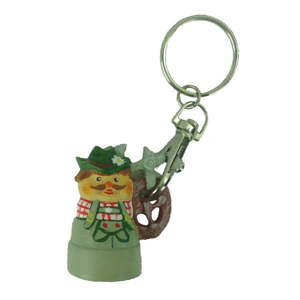 German Souvenir Keychain: Man - DutchNovelties