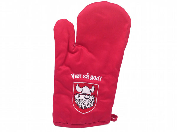 Red Mitten Scandinavian Gift Idea Vaer Sa God! - DutchNovelties