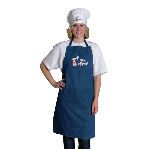 Bon Appetit! Denim Apron Kitchenware