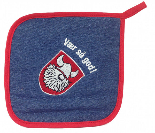 Norwegian Store Item: Vaer Sa God! Potholder - DutchNovelties