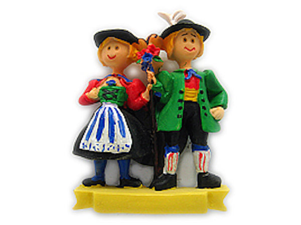 German Gift Magnetic German Oktoberfest Couple - DutchNovelties