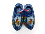 Blue Wooden Shoes Magnetic Gift - DutchNovelties  - 1