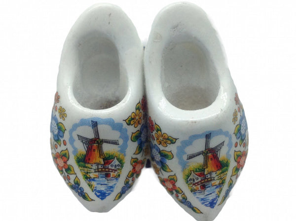 Multi Color Wooden Shoes Magnetic Gift - DutchNovelties
