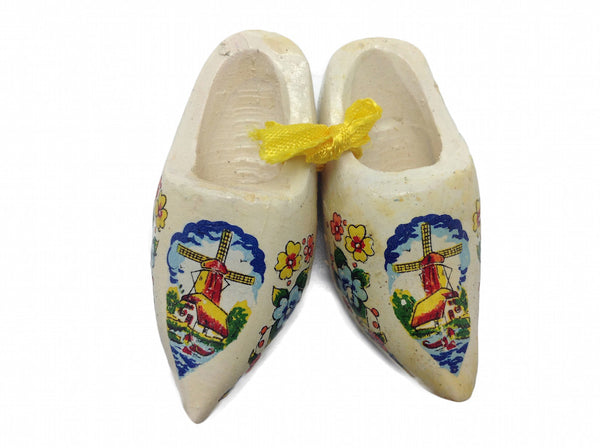 Wooden Clogs Kitchen Magnet Multi-Color - DutchNovelties
