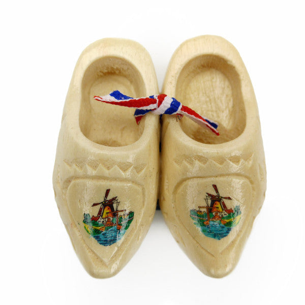 Holland Wooden Shoes Kitchen Magnet Carved - DutchNovelties  - 1