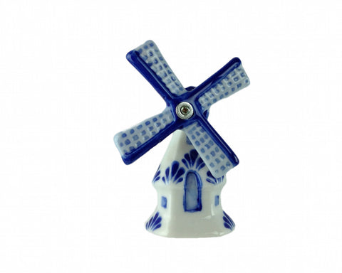 Delft Blue Windmill Fridge Magnet - DutchNovelties