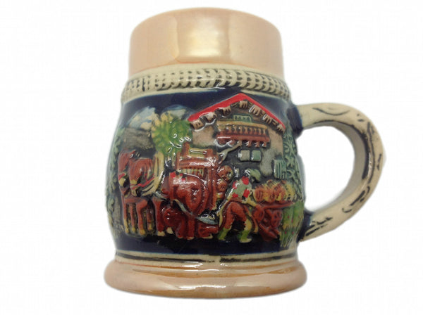 Ceramic Beer Stein Fridge Magnet Beer Harvest - DutchNovelties  - 1
