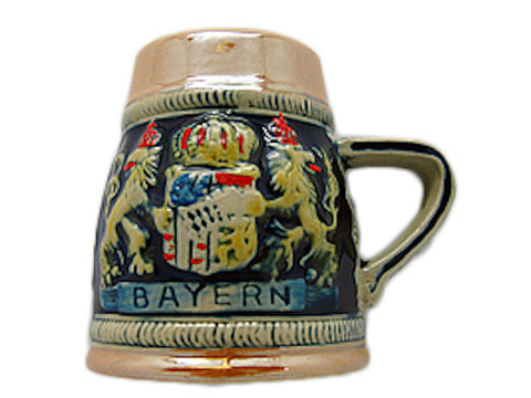 Ceramic Beer Stein Fridge Magnet Bayern - DutchNovelties  - 1
