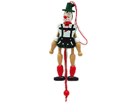 Jumping Jack Toy Fridge Magnet German Boy - DutchNovelties