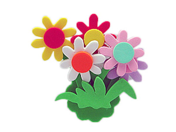 Tulip Time Fridge Magnet Daisy Flower Bouquet - DutchNovelties  - 1