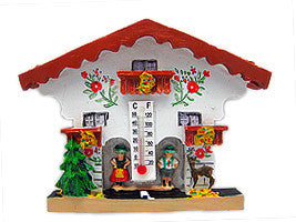 German Bavarian House Fridge Magnet Thermometer - DutchNovelties