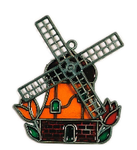 Holland Windmill Sun Catcher Magnet - DutchNovelties