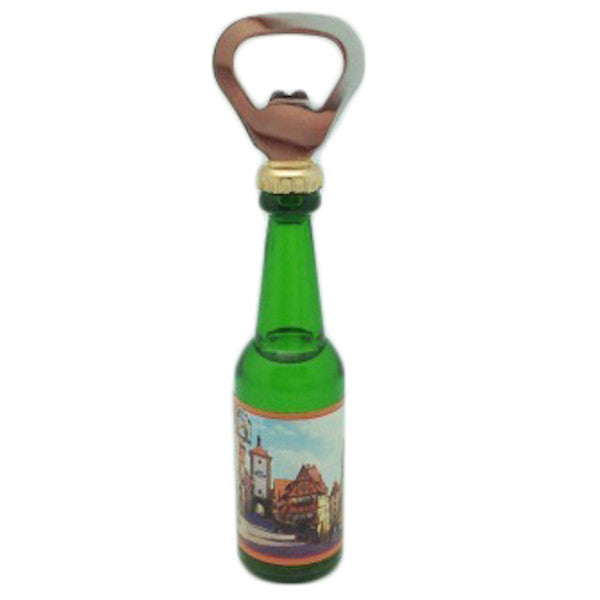 Magnetic Bottle Opener German Souvenir Kitchen Magnet - DutchNovelties  - 1