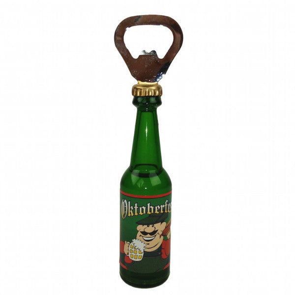 Magnetic Bottle Opener Oktoberfest Kitchen Magnet - DutchNovelties  - 1