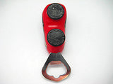 Bottle Opener Ring Red Magnet Wooden Shoe - DutchNovelties  - 2