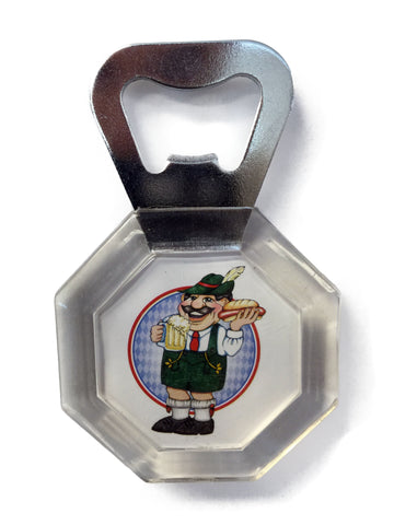Acrylic Bottle Opener German Oktoberfest Man - DutchNovelties