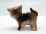 Ceramic Animals Miniatures Standing Color Cat - DutchNovelties  - 2