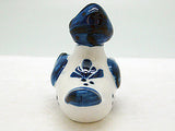 Delft Blue Animal Miniatures Happy Duck - DutchNovelties  - 3