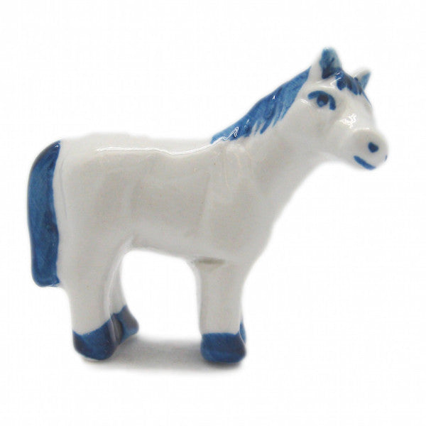 Delft Collectible Animals Miniatures Horse - DutchNovelties  - 1