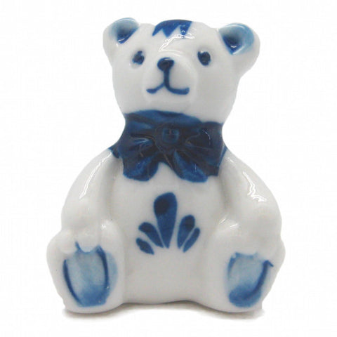 Delft Collectible German Teddy Bear Miniature - DutchNovelties  - 1