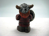Miniature Scandinavian Viking With Shield - DutchNovelties