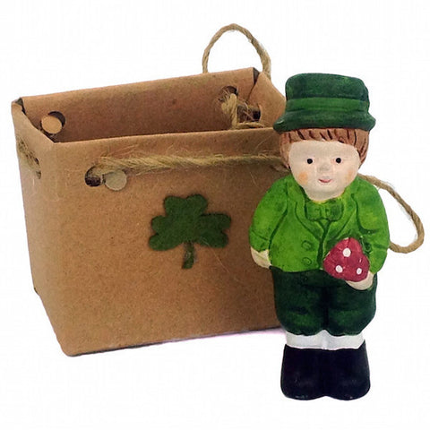 Ceramic Ornamental Mini: Irish Boy - DutchNovelties