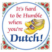 Dutch Kitchen Magnet Tile (Humble Dutchman) - DutchNovelties
