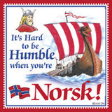 Norwegian Unique Magnet Tile (Humble Norsk) - DutchNovelties