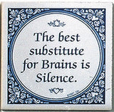 Delft Magnet Tiles: Best Substitute For Brains - DutchNovelties  - 1