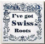Swiss Culture Magnetic Tile (Swiss Roots) - DutchNovelties  - 1
