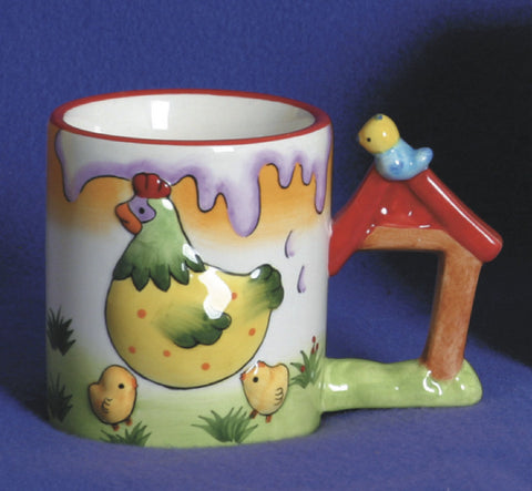 Animal Cup with Sound: Chicken - DutchNovelties  - 1