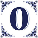 Ceramic Delft Blue House Numbers Tile - DutchNovelties  - 10