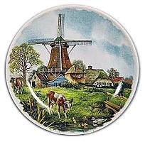 Collectible  J.C Van Hunnik Plates Spring Scene Color